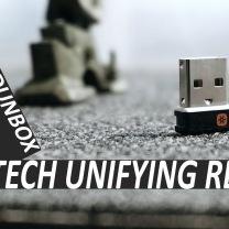 buat yg suka lupa receiver mouse atau keyboardnya.. LOGITECH UNIFYING RECEIVER | #ODDUNBOX