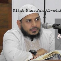 Kitab Mausu'ah Al-Adab Al-Islamiyyah   pasal 7 (Adab Berqurban) - Ust. Fuad Hamzah Baraba'. Lc.